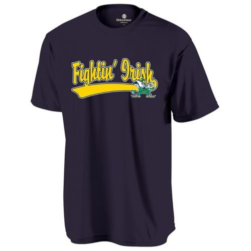 (CREWNECK NOTRE DAME FIGHTING IRISH Dry Excel Wicking Tee ADULT 3XL Licensed NCAA College Replica Jersey)