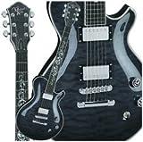 Michael Kelly Patriot Glory Electric Guitar, Black Fade