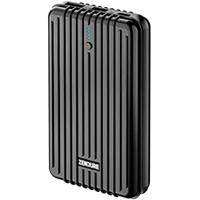 Zendure A5PD Power Bank with 16750mAh  Crush-Proofed  2-Port Quick Charge 3 0  18W Power Delivery for iPhone  Tablet  Android  Nintendo Switch and more  USB  USB-C  Hand Luggage Suitable   Silver