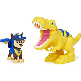 Paw Patrol, Dino Rescue Chase and Dinosaur Action Figure Set, for Kids Aged 3 and up