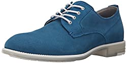 CK Jeans Men's Dwight Suede Trans Oxford, Yellow, 10 M US
