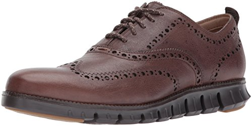 8 Fashion Outlet (Cole Haan Men's Zerogrand Oxford Outlet Exclusive II, Java Leathr/Dark Roast, 8 Medium US)