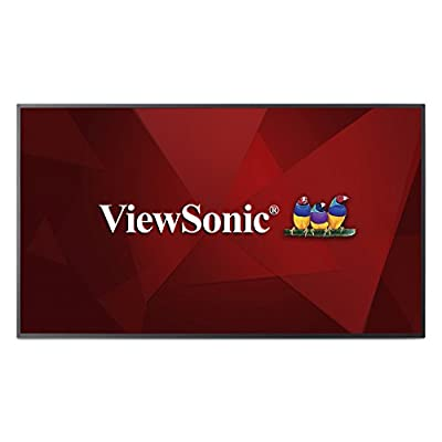 "ViewSonic CDE5510 55"" 4K Commercial Display, Quad-Core CPU, Android SoC, HDMI, DVI, VGA"