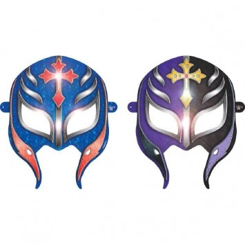 Wwe Paper Masks (Wwe Party Paper Masks 8 Count-2Pack)