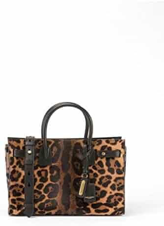 52faa0ab55cd Saint Laurent Sac de Jour Baby Supple Leopard Satchel Bag