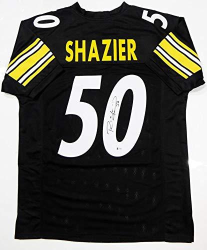 hot sale online 320b1 10115 Ryan Shazier Autographed Black Pro Style Jersey- Beckett ...
