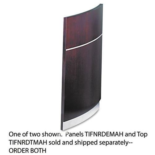 (MLNNRDEMAH - Mayline Napoli Series Wood Veneer Reception Desk Base)