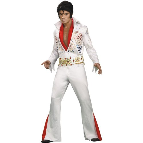 Grand Heritage Elvis, Large, White ()