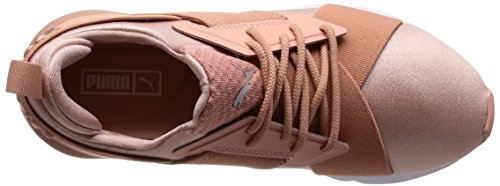 Puma Muse X-strp Satin Ep W S 36553401, Sneakers Mørk Pink / Hvid