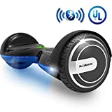 MEGAWHEELS Smart Hoverboard - UL Certified Safety Battery, Build-in...