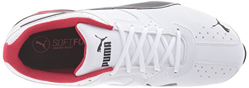 PUMA Men's Tazon 6 FM Puma White/ Puma Black/ Puma Silver Running Shoe - 7.5 2E US by PUMA (Image #7)
