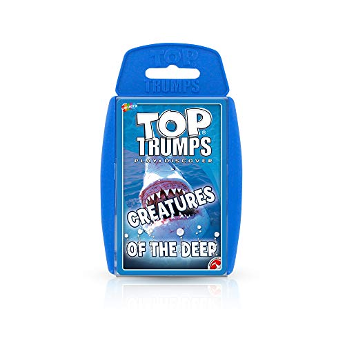 Creatures of the Deep Sea Top Trumps Card Game
