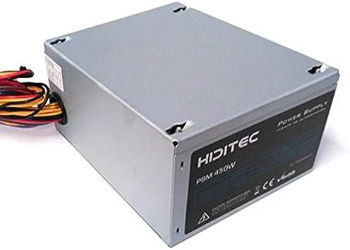 Fuente alimentacion hiditec micro atx psm450: Amazon.es: Electrónica