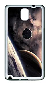 coolest cover Planets Art TPU White case/cover for samsung galaxy note 3 N9000