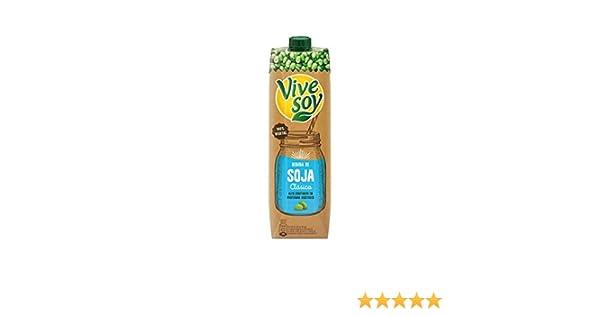 Vivesoy - Bebida de Soja Natural - 1 L: Amazon.es: Alimentación y bebidas