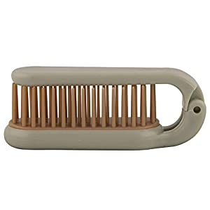 Thrifty Shopper Pocket Folding Hair Comb Brush Comb Portable Collapsible Travel Essentials Scalp Massage Plastic Hair…
