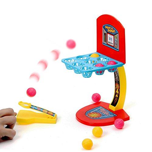 FUNTOK Desktop Mini Finger Basketball Shooting Game Educational Toy Parent-child Interaction Game (Mini Basketball Game)