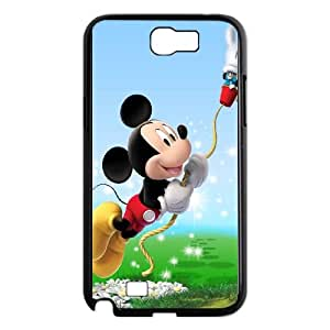 Samsung Galaxy N2 7100 Cell Phone Case Black Mickey Mouse 10 LV7889862