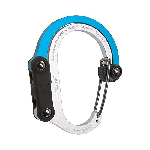 Heroclip 3-in-1 Clip Hang Carabiner Hook Outdoor DIY Unique Gift