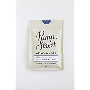 Pump Street Rye Crumb, Milk & Sea Salt 60%