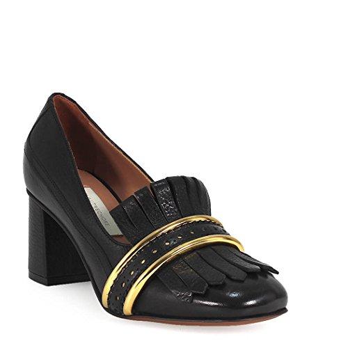 L'Autre Cuir Noir Escarpins LDF02365WP2453E680 Chose Femme rvqpr