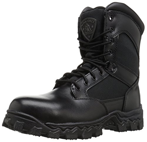 Rocky Men's Alpha Force 8 Inch Side Zip Steel Toe