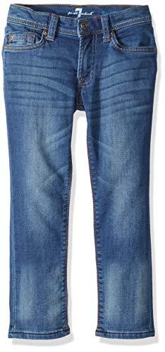 (7 For All Mankind Kids Boys' Toddler Slimmy Jean, Heritage Blue 3T)