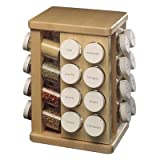 Sugar Maple Carousel Spice Rack Spice Carousel Count: 32 Bottles