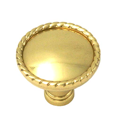 Hickory Annapolis Polished Brass Round 1 1/2