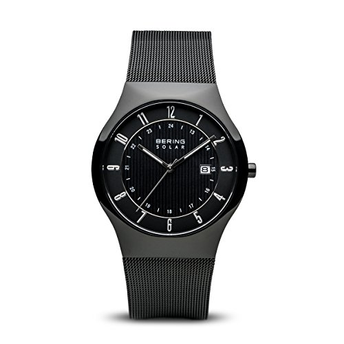 BERING Time 14640-222 Men Solar Collection Watch with Stainless-Steel Strap and Scratch Resistent Sapphire Crystal. Designed in Denmark