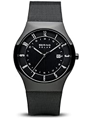 BERING Time 14640-222 Men Solar Collection Watch with Stainless-Steel Strap and scratch resistent sapphire crystal...