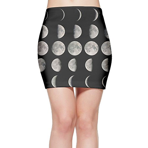 988Iron Moon In 2017 Women's Sexy Tight Hip Mini Skirts (Celebrity Halloween Party 2017)