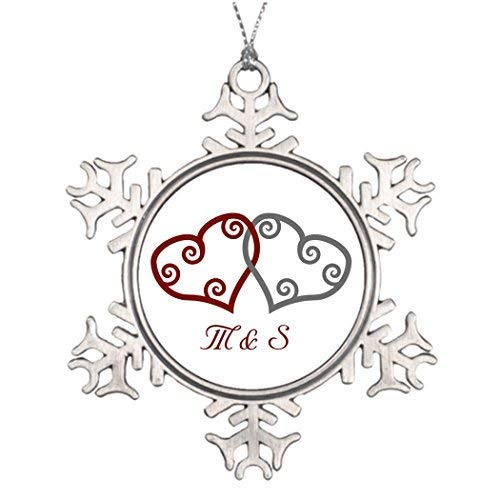 Snowflake Engagement Ornament