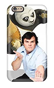 Snap-on Jack Black As Panda Case Cover Skin Compatible With Iphone 6