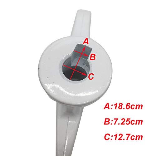 eshopcity Batteur de bord flexible de 4 5 /à 5 pts pour le batteur sur socle inclinable kitchenaid accessoire de mixage parfait pour le m/élangeur kitchenaid