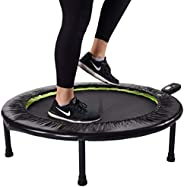 Stamina 1635 36-Inch Folding Trampoline | Quiet and Safe Bounce | Access to 3 Free Guided Online Workouts Incl