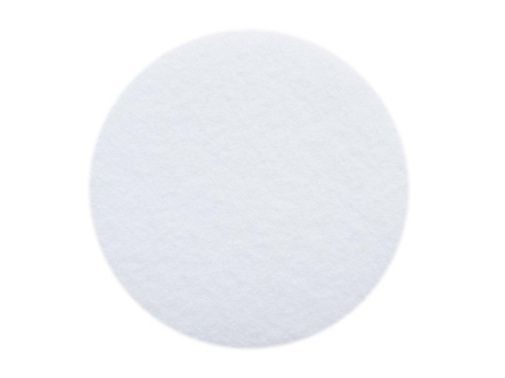 YYCRAF 50 Soft Thick 3 inch Felt Circles-White YYCRAFT
