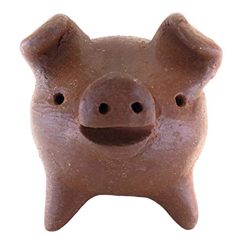 JS Gifts Chanchito 3 Legged Pig - Good Luck Token of Abundance and Happiness, Small 2 x 2 x 2