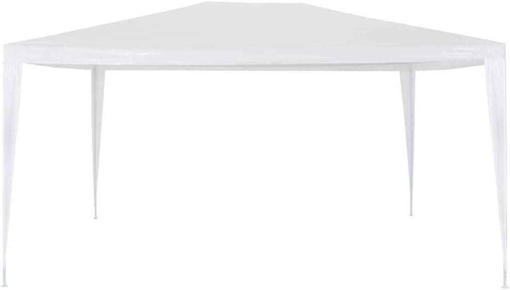 vidaXL Gazebo da Esterno Tenda per Feste 3x4 m Bianco Tendone da Giardino