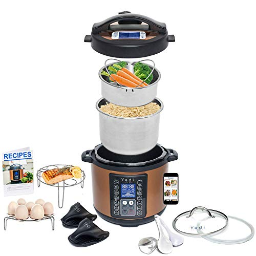 Total Package 9-in-1 Instant Programmable Pressure Cooker, w