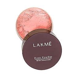 Lakme Rose Face Powder, Warm Pink, 40g