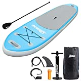 UBOWAY Inflatable SUP Stand Up Paddle Board & Accessories Package Deal