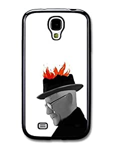 AMAF ? Accessories Breaking Bad Heisenberg Walter White Fire Art case for Samsung Galaxy S4 wangjiang maoyi by lolosakes