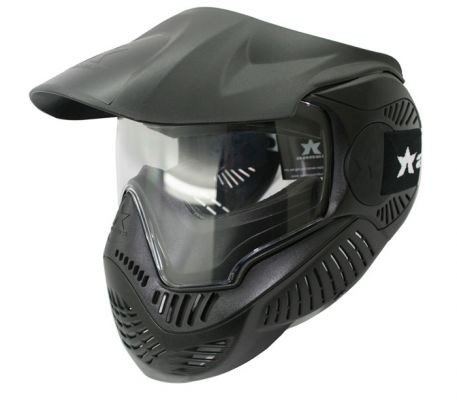 (Valken Paintball MI-3 Field Goggle/Mask - Rental - Single Lens - Black)