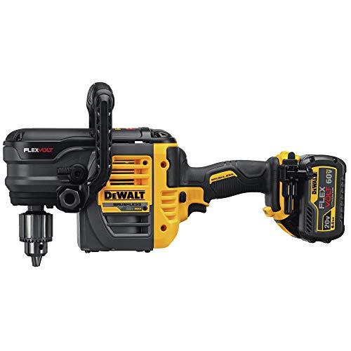 DEWALT DCD460T2 60V MAX 2 Battery FLEXVOLT Stud Joist Drill Kit, 1/2