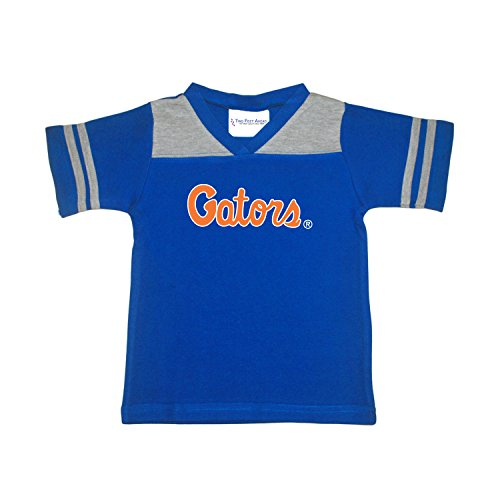 NCAA Florida Gators Toddler Boys Football Shirt, Royal, 4