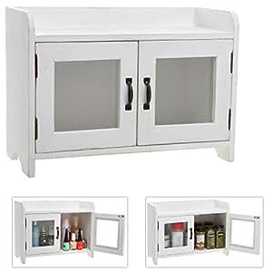 Amazon.com: Decorative Shabby Chic White Wood Mini Kitchen