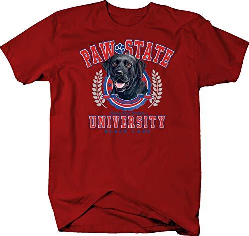 Paw State University Black Lab Dogs Dog Custom Tshirt - 2XL