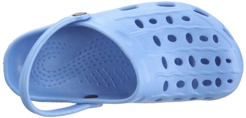 Playshoes EVA-Clog Unisex-Kinder Clogs Blau (bleu 17)