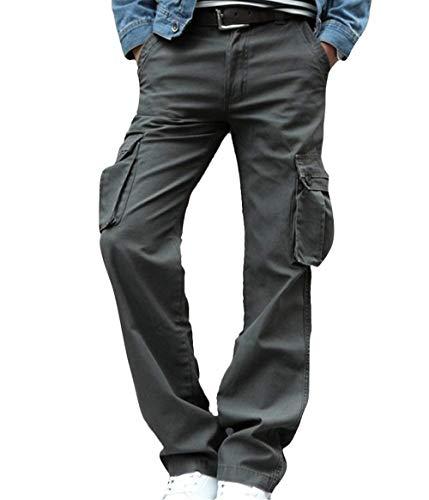 Tasche Army Da Vestibilità Con Armeegrün E Cargo Comoda Camo A Pantaloni Cotone Emmay Giungla Uomo Vintage Essenziale In Della Multiple EqZnwvTf